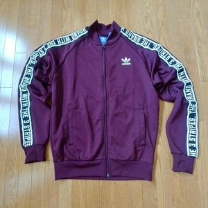 """Adidas """"the brand with the 3 stripes"""" mens jacket"""